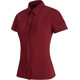 Mammut Trovat Light Skjorte 1/2 Damer rød